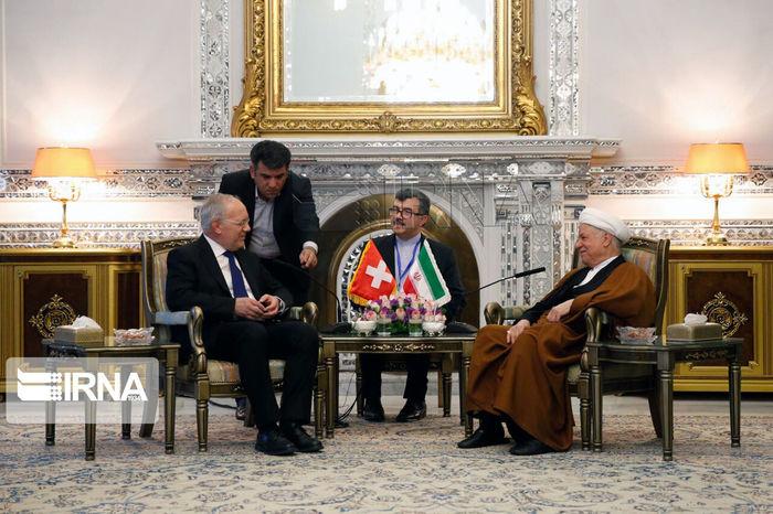 تصاویر/ دوستی ۱۰۰ ساله ایران و سوئیس