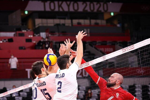 شکست سنگین والیبال ایران مقابل کانادا