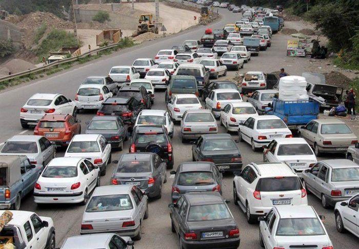 آخرین وضعیت ترافیکی در محورهای شمالی