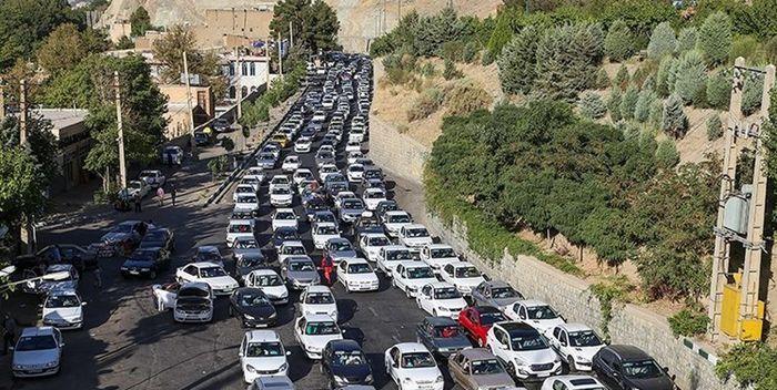 آخرین وضعیت ترافیکی در جاده ها