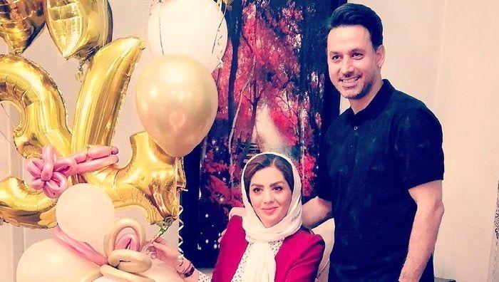 آقای مجری همسرش را سورپرایز کرد+ عکس