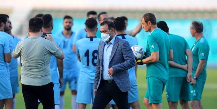 عزیزی خادم: بودجه فوتبال ۵۲ میلیارد است
