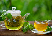 درمان کرونا با چای سبز