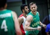 ستاره تیم ملی بسکتبال ایران ازدواج کرد + عکس