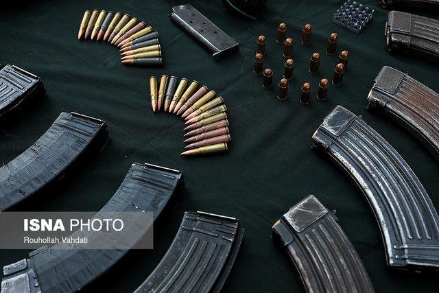 اسلحه فروشان تهران به دام افتادند