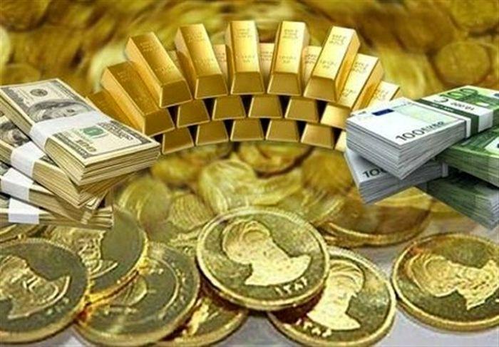 آخرین قیمت سکه و طلا و ارز در بازار