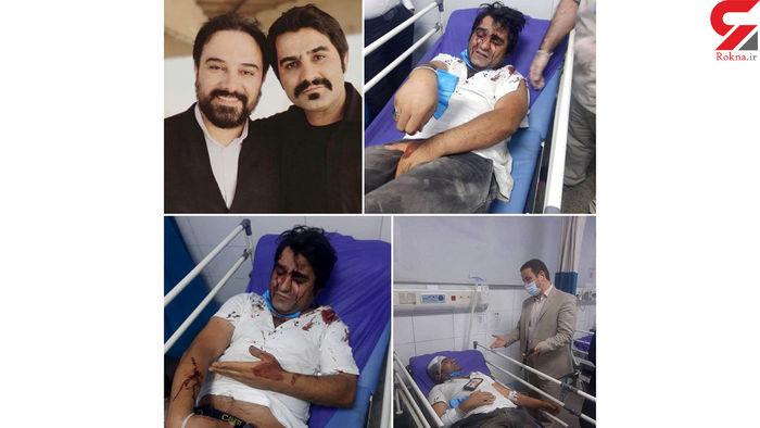 حمله خونین مخالفان ابراهیم رئیسی به بازیگر دودکش! / عکس