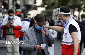 تصاویر/ واکنش مردم تهران به تذکر آمران سلامت