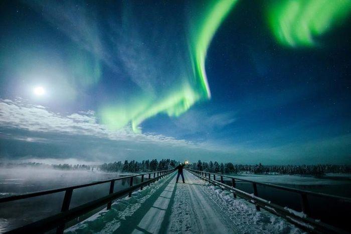 تصاویر خیره کننده از شفق قطبی