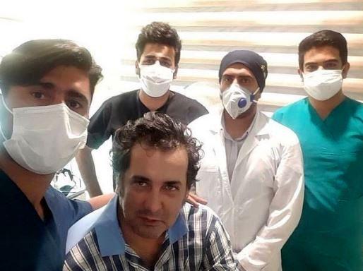 آخرین وضعیت حسام نواب صفوی + عکس