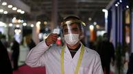تصاویر/ رعایت پروتکلهای بهداشتی در یک رویداد نمایشگاهی