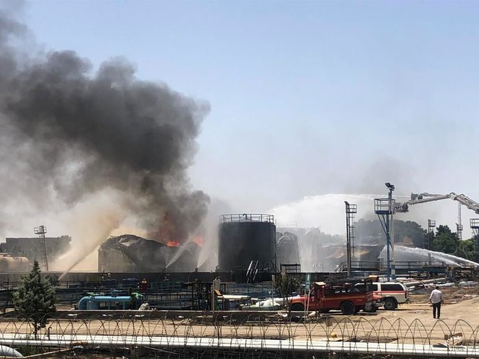 حریق پالایشگاه تهران بر روند توزیع سوخت تاثیر دارد؟