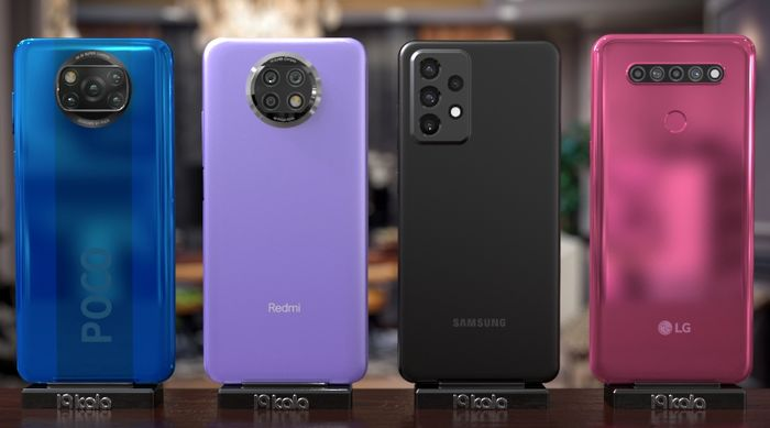گوشی های ۲ تا ۳ میلیونی در بازار + جدول