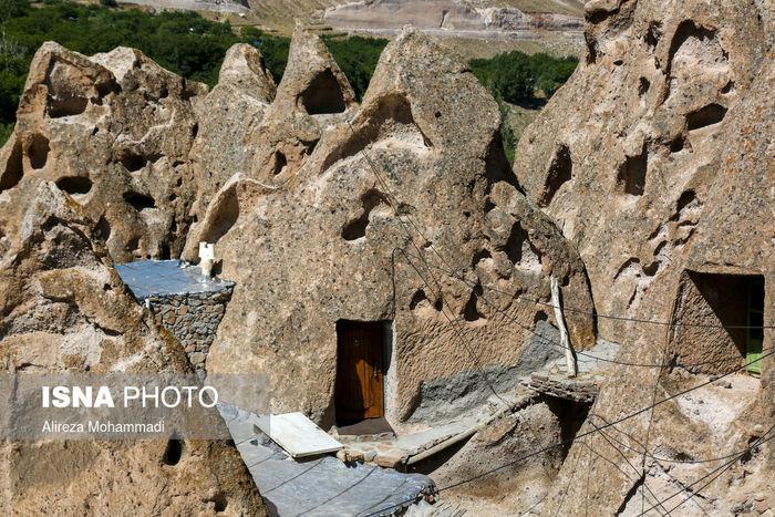 تصاویر / کندوان ، تنها روستای صخره ای جهان