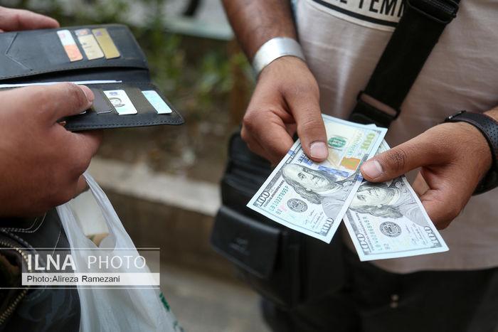 تصاویر / بازار ارز در روز توقف فروش سهمیه ای