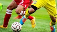 چاقوکشی در فوتبال ایران / چشم این بازیکن را درآوردند + عکس