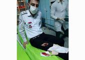 رضا سیبیل تهرانسر پس از لات بازی دستگیر شد!