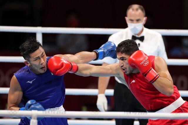 شاهین موسوی از بوکس المپیک حذف شد