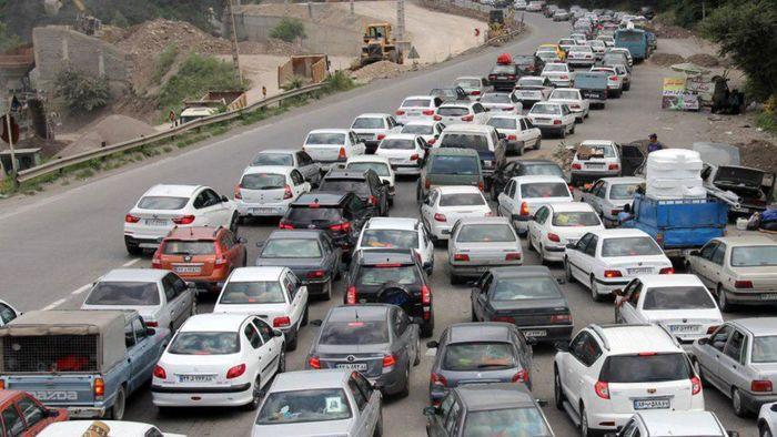 تردد در جادههای کشور کاهش یافت