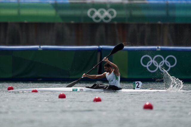 قایقران ایرانی به یک چهارم نهایی المپیک رسید