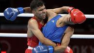 بدشانسی بوکسور ایرانی در المپیک