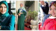 رابطه خانم محجبه با کلاهبردار بینالمللی لو رفت + تصاویر