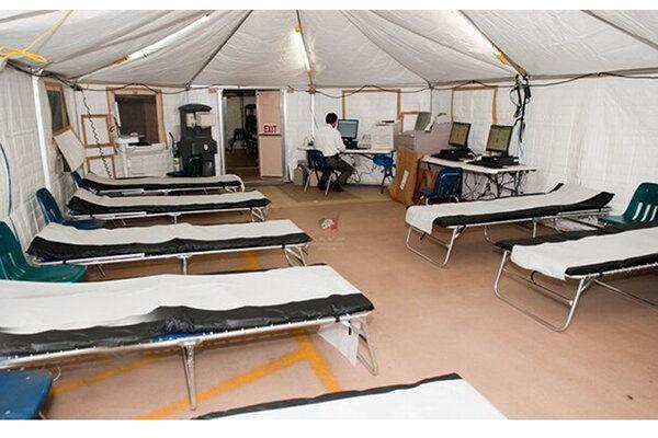 بیمارستان صحرایی در تهران برپا خواهد شد؟