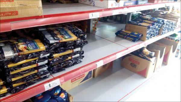 قیمت انواع ماکارونی در بازار (۹۹/۱۲/۷)