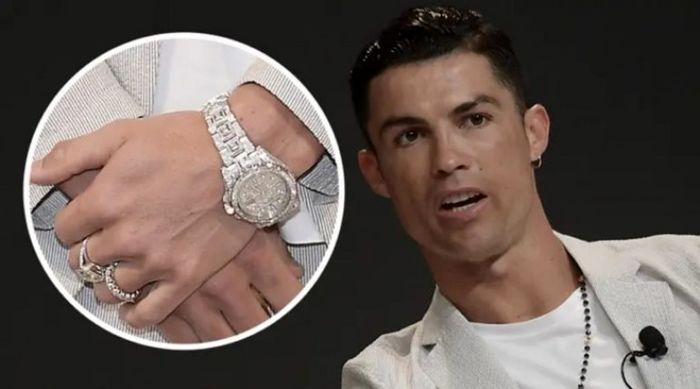 بهترین ساعت جهان در دست بهترین فوتبالیست جهان