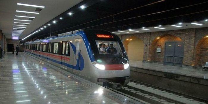 وضعیت فعالیت مترو در روزهای تعطیل