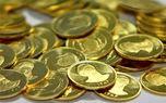 قیمت سکه به سمت حمایت سنگین