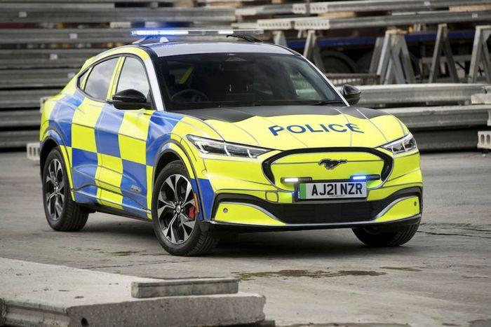 التماس برای استفاده از ماشین پلیس برقی