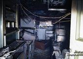 آتش گرفتن مرسدس بنز لاکچری در تهران/ عکس