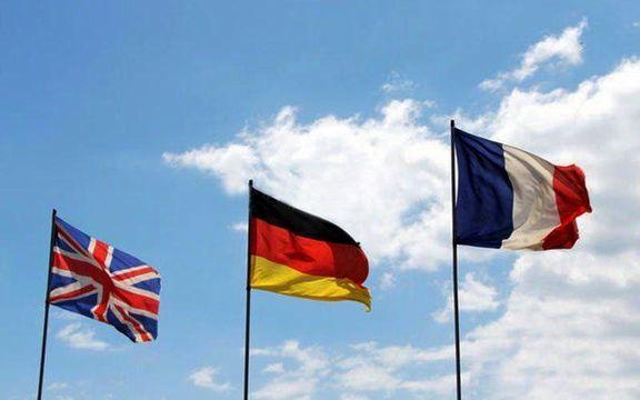 بیانه سه کشور اروپایی درباره برجام