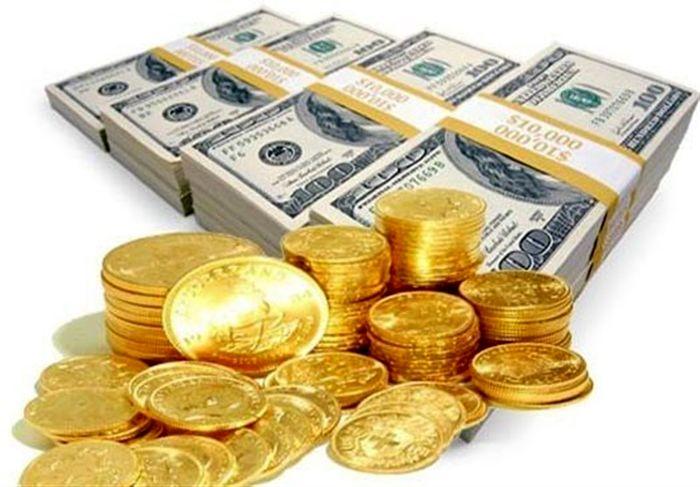 ریزش قیمت سکه و دلار در بازار