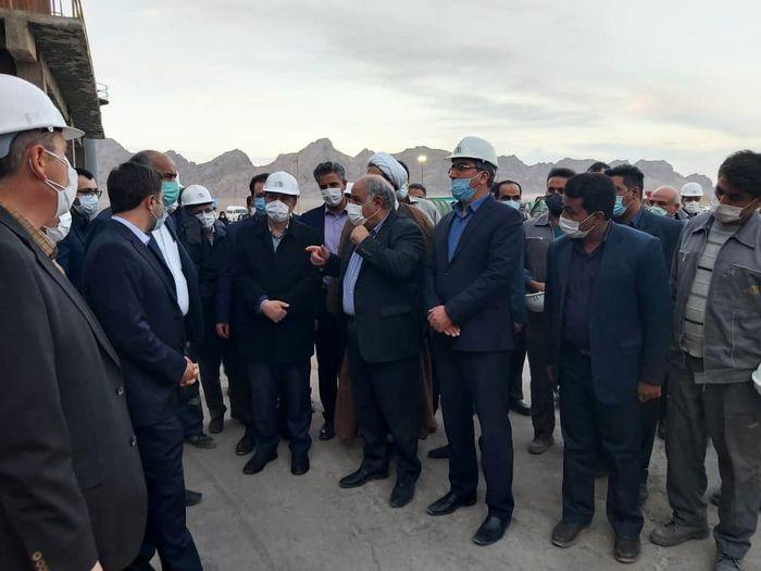 افتتاح طرح توسعه معادن سرب و روی مهدیآباد
