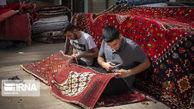 تصاویر/ رفوگری در بازار فرش تهران