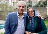 تصویری خاص از موتور سواری جواد عزتی و همسرش