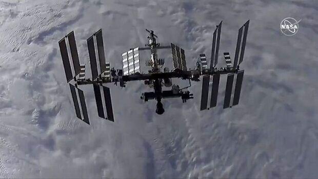 ایستگاه فضایی بین الملل را دود برداشت!