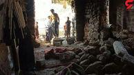 تصاویر دردناک از زلزله خوزستان / زمین دهان بازکرد