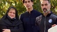 سنگ تمام همسر منصور پور حیدری برای محمد نادری