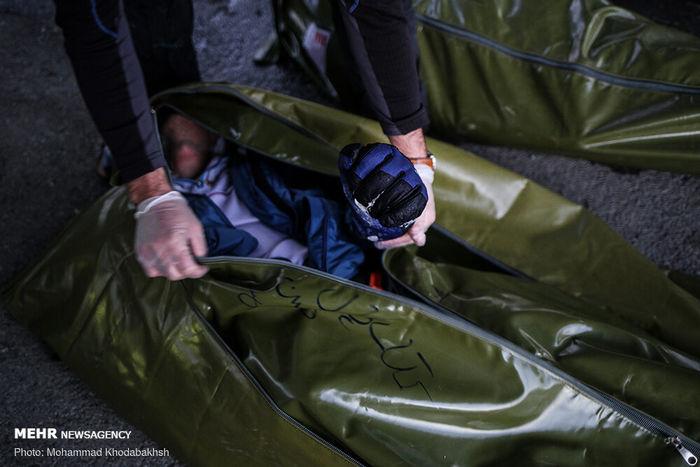 تصاویر/  ۱۰ فوتی و ۷ مفقود در حادثه ریزش بهمن ارتفاعات تهران