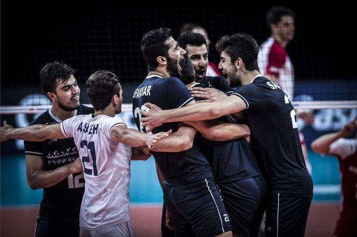 ترکیب والیبال ایران برابر آرژانتین