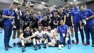 صعود قدرتمند ملیپوشان والیبال ایران