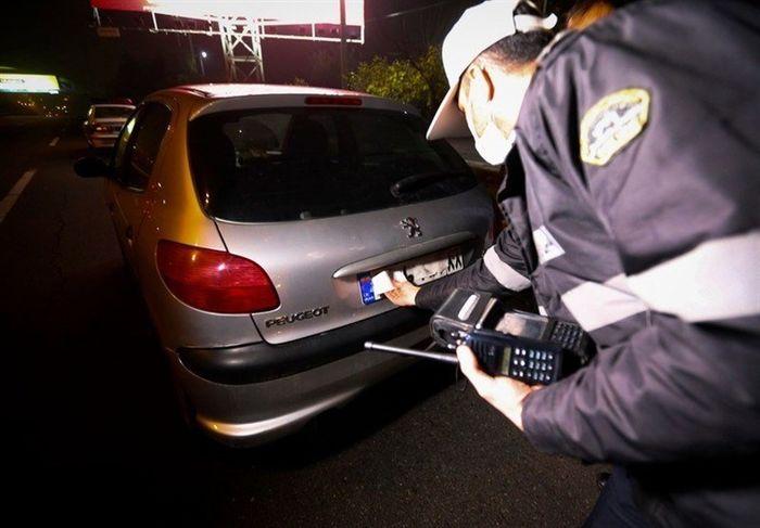 پوشاندن پلاک چقدر برای رانندگان متخلف آب می خورد؟