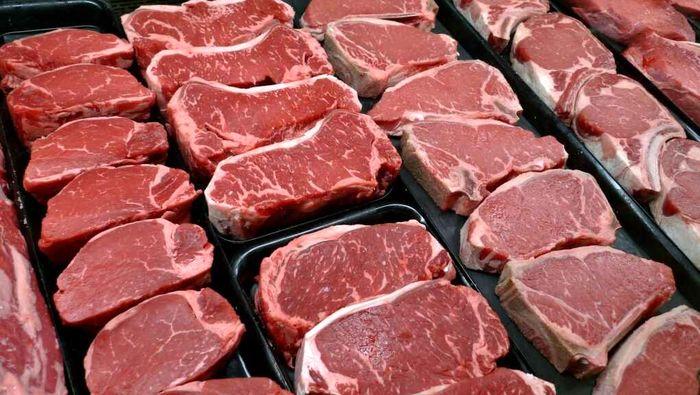 قیمت انواع گوشت قرمز امروز ۵ شهریور ۱۴۰۰