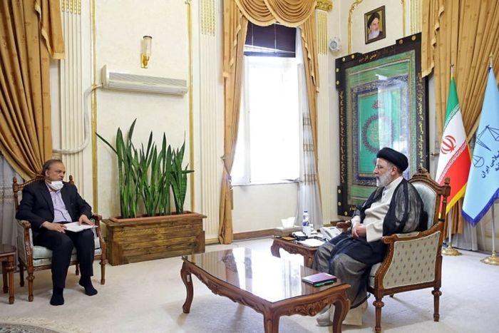 وزیر صمت با رئیس جمهور منتخب دیدار کرد