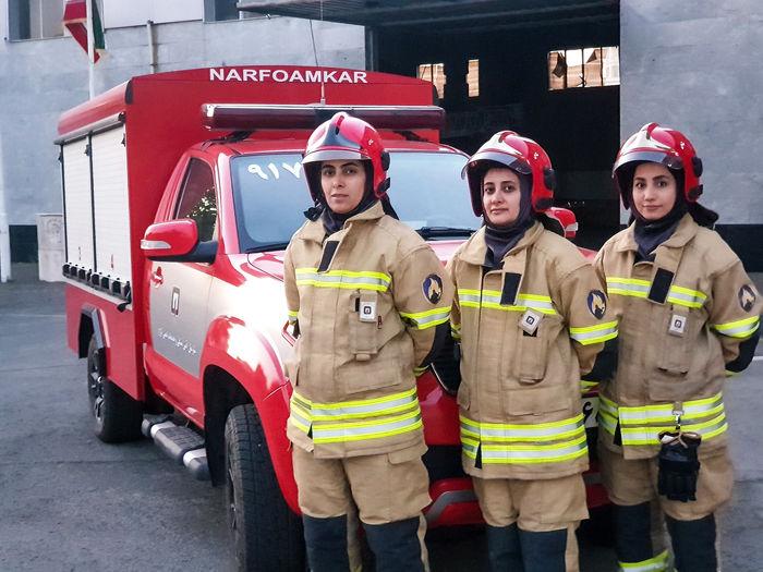 این ۱۳۱ زن ایرانی از آتش و مرگ نمیترسند! + عکس