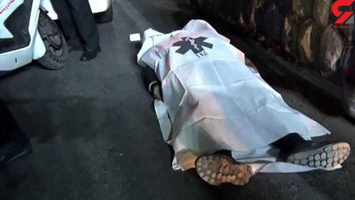 کشته شدن این فرد در خط ویژه اتوبان بسیج!+عکس