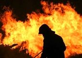 ساختمان عصرایران در آتش سوخت!
